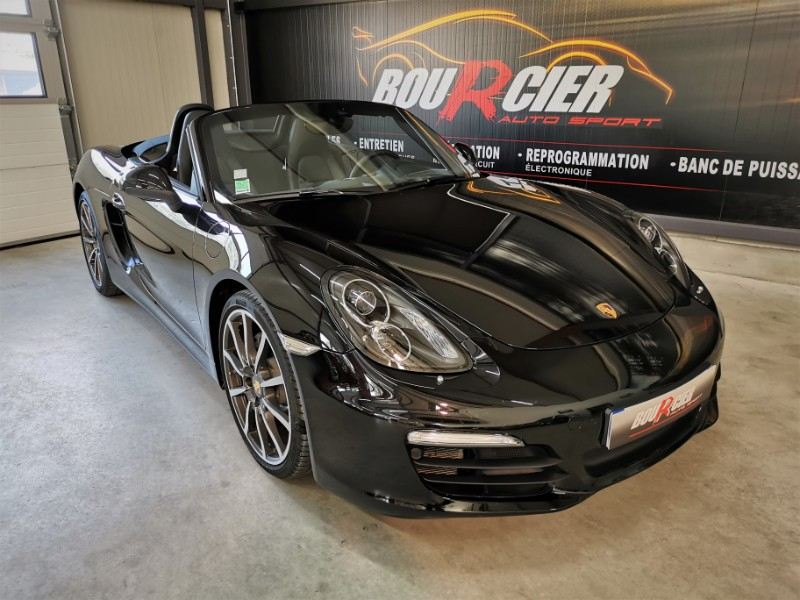 Porsche Boxster 981 Black Edition, 1ère main, France